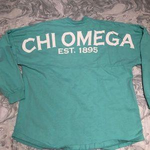 Chi Omega spirit jersey